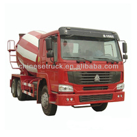 2015 Brand New howo 9 cubic meters cement mixer truck ZZ1257N3641 for sale