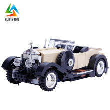assembly 03007 plastic building block toy retro resin model car for sale