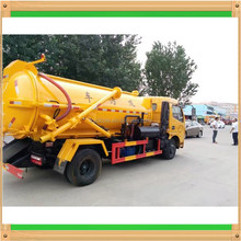 Sewer Septic Tanks 3Tons Vacuum Pump Sewage septic suction Tanker Truck