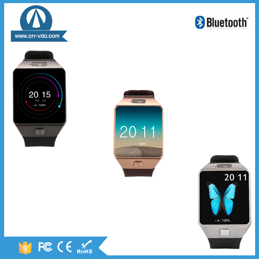 New Bluetooth vibrating watch phone 3g wifi manual GPS tracker
