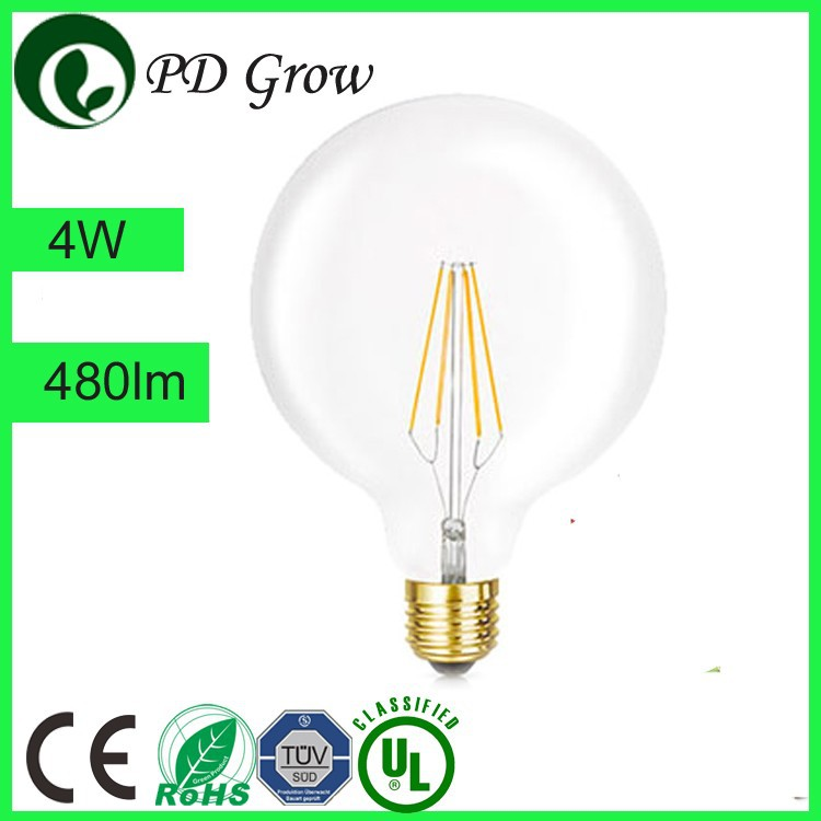 PD Lamp G95 globe 15 anchors vintage tungsten filament lamp