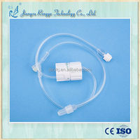 CE and ISO approved medical disposable 5-250ml/hr I.V infusion giving set