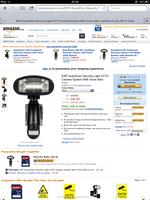 ESP GuardCam Security Light/CCTV Camera System (Returns)