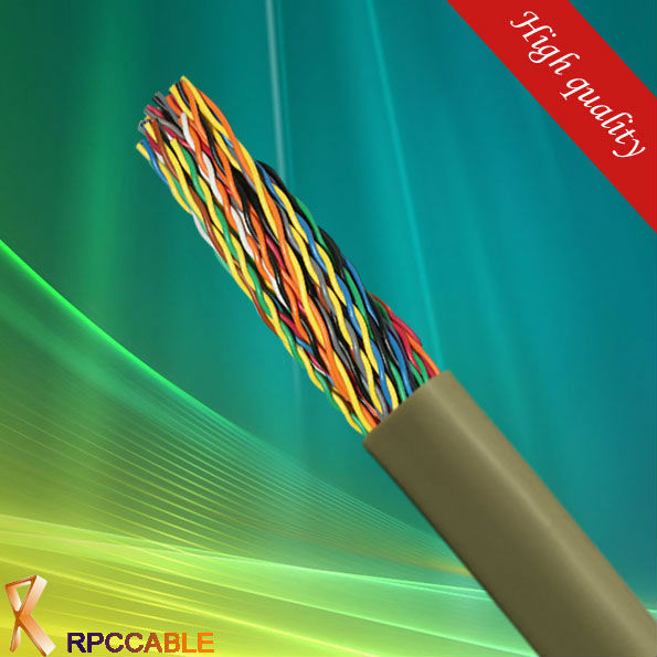 copper pvc jacket telephone cable 30 pair cable
