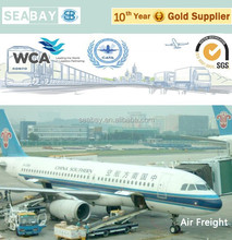 cheapest air shipping cost/rates company/Agent china to usa