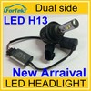 LED High low bulb Hi low beam h13 led headlight automobile 12V super bright.
