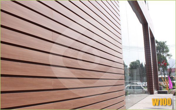 elegant space outdoor wood panel wpc wall siding