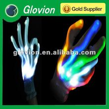 Fashion LED flashing light gloves rave light gloves led gloves multicolor