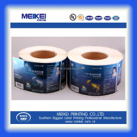 cold stamping color label printer for fish oil packaging