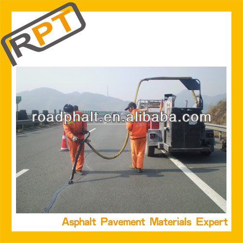 longitudinal crack asphalt sealing