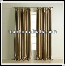 blackout stripe office window curtain