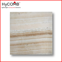 Light weight and thin Stone Honeycomb Panel / Marble or Onyx Stone Panel for interior decoration