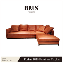 Economical affordable price cheap sectional comfortable l shaped sofa set