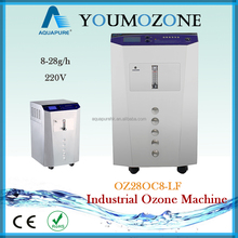 28g high frequency ozone machine for industrial use