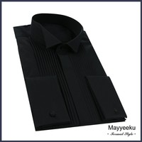 Hot Selling Wholesale 100%Cotton Shirts, Dress shirt for men, French style double cuff Shirt