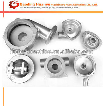 Precision Casting Stainless Steel Pump Valve Parts