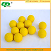 Trade assurance hot selling yellow pu golf ball for sale