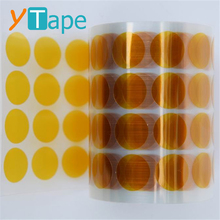 0.1mm Various Shape Die Cut Kaptons Adhesive Double Sided Polyimide Tape 200 280C