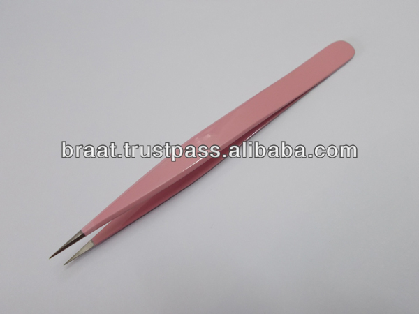 New Eyelash Extension Tweezers in Very High Quality with Fine Point