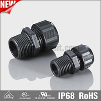 VDE listed Metric cable waterproof connector/m12 connector