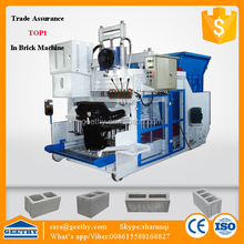 QMY18-15 concrete flyash foam brick machine/hollow building material making machinery parts