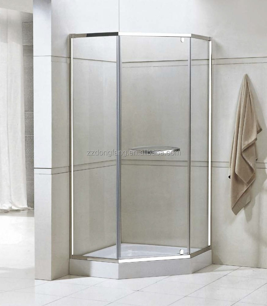Popular with Frame sliding glass shower door for glass shower room(A-154)