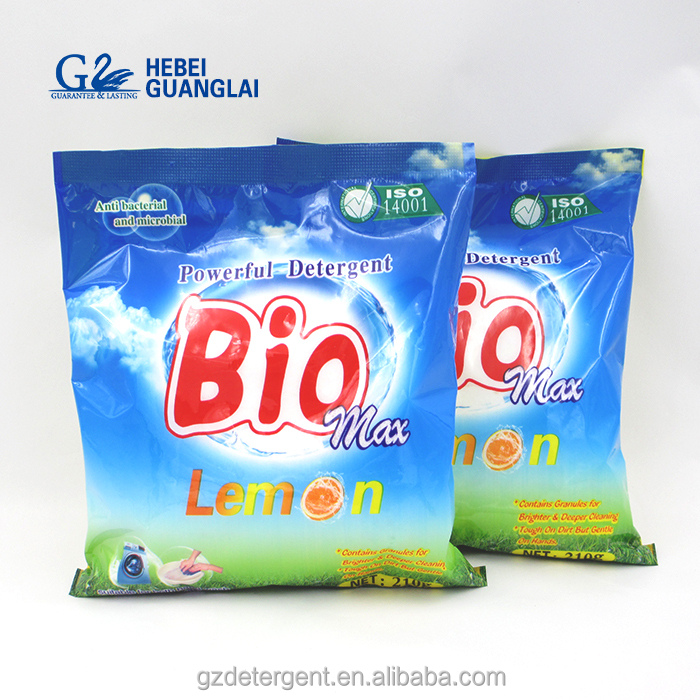 Eco-friendly Antibacterial Laundry Detergent Powder with Strong Stain Removal Function