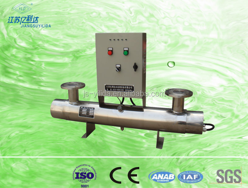 Low Pressure High-energy UV-185 um Ultraviolet TOC Remover Disinfection System used in High-purity Water Treatment