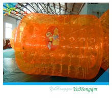 Wow!! ORANGE roll inside inflatable ball//inflatable ball water ball water walking ball