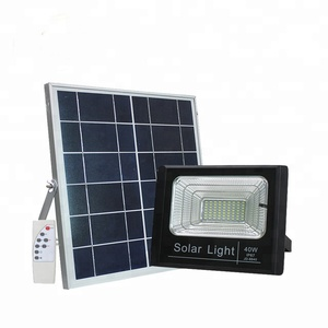 New design outdoor ip65 motion sensor PIR 10w 25w 40w 60w 100w solar led flood light