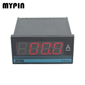DP3A panel size 48*96mm economic type AC single phase LED digital panel voltmeter, low price high quality voltage instrument