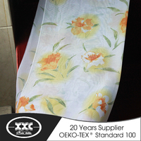 wholesale cheap 100% polyester fashionable curtain fabric
