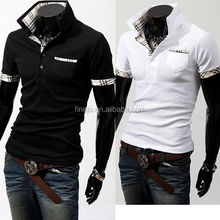2012 New Casual Men's Stylish Slim Short Sleeve Shirts 3633