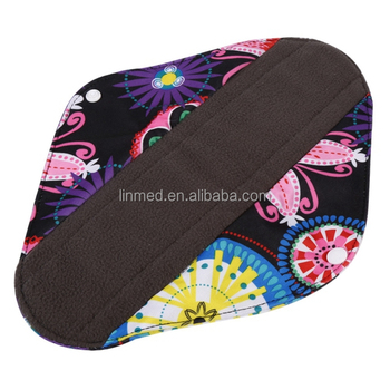 Comfort Feminine Women Washable Pads Sanitary Reusable Menstrual Pads