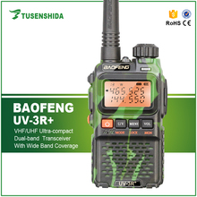 5W professional camouflage color Two way Radio transceiver frequency transmitters receivers BF-UV3R Walkie Talkie