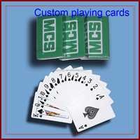 manufacturing play cards 280gms blue core