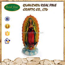 Resin Lady Guadalupe miniature religious figurines