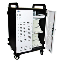 Safety Ipad Tablet Laptop Charging Cart