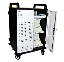 Safety Ipad/Tablet/laptop charging cart charging station charge cabinet charge trolley JQ40