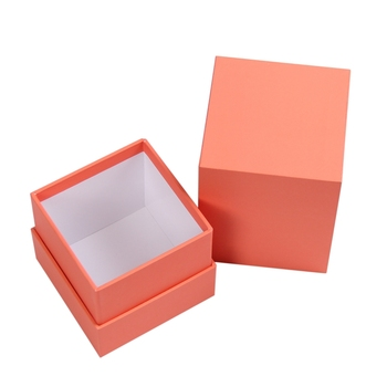 Fancy small 4x4 cardboard candle gift box packaging paperboard cardbord boxes