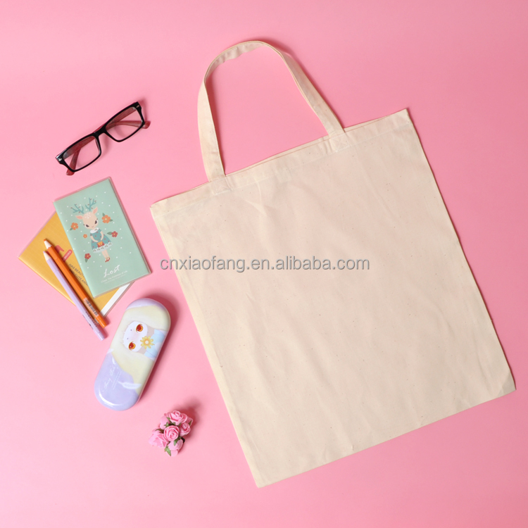 blank art canvas tote bag for DIY and giveaway