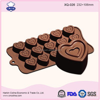 Fondant cake mold Circle of love silicone chocolate mould