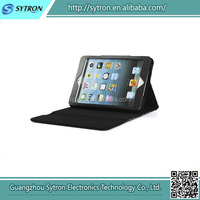 Factory price! popular style for iPad mini 2 phone leather case