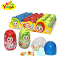 mini round hard candy with powder candy with funny bottle