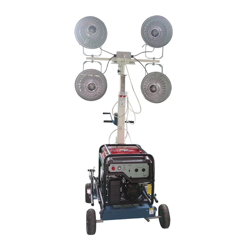 Gasoline engine mobile automatic lifting light tower with <strong>ce</strong>