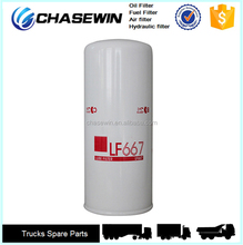 China Factory Produce OEM LF667 Truck Oil Filter