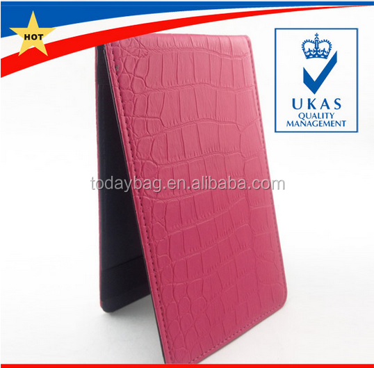 Factory Stock PU Leather Golf ScoreCard Holder with Pencil