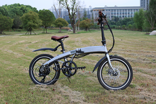 Foldable city tour ebicycle with panasonic electric bike lithium battery