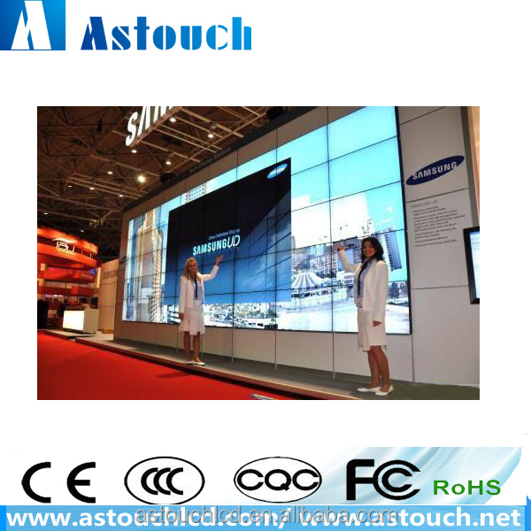 40 inch LED video wall SAMSUNG big led screen with 550nits