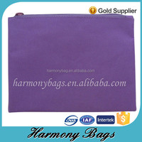 2015 best selling products non woven purple clutch purse coin wallet